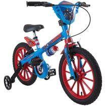 Bicicleta Infantil Aro 16 - Marvel - Capitão América Bandeirante