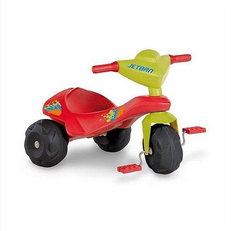 Triciclo Jet Ban - Brinquedos Bandeirante - Vermelho