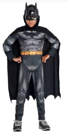 Fantasia Batman Infantil Peitoral - DC