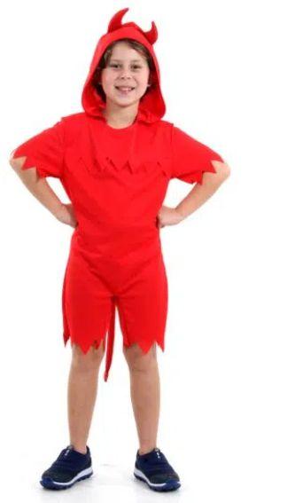 Fantasia Diabinho Infantil Pop - Halloween