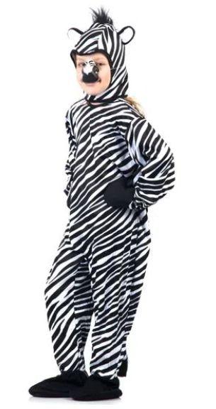 Fantasia Zebra Infantil