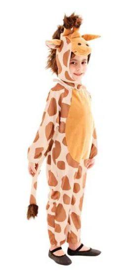 Fantasia Girafa Infantil