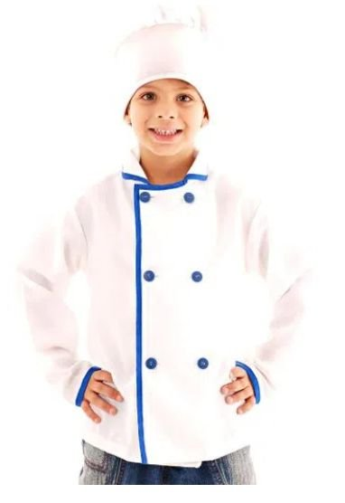Fantasia Cozinheiro Infantil