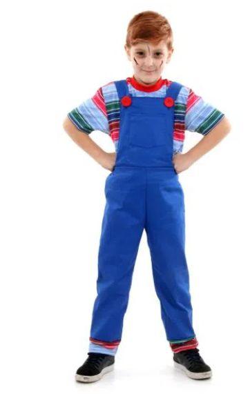 Fantasia Chucky Boneco Assassino Infantil - Halloween