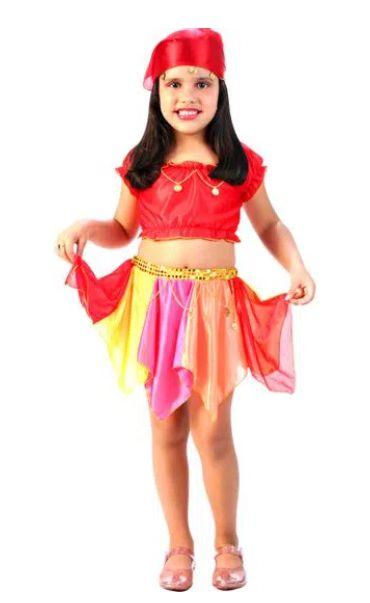 Fantasia Cigana Basic Infantil