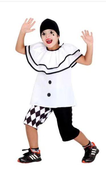 Fantasia Pierrot Verão Infantil