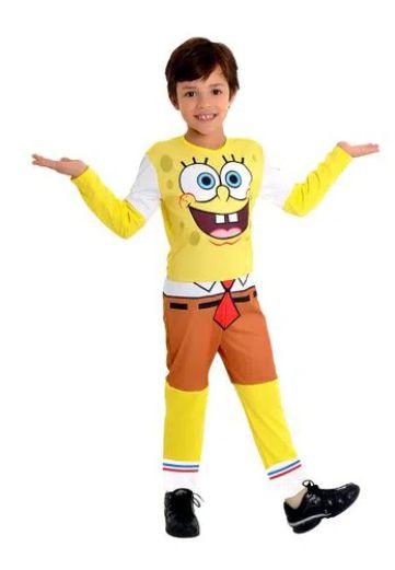 Fantasia Bob Esponja Infantil