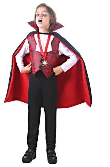 Fantasia Conde Dracula Infantil