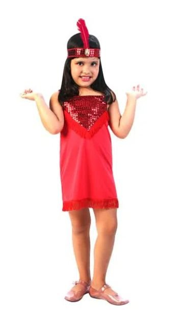 Fantasia Melindrosa Basic Infantil