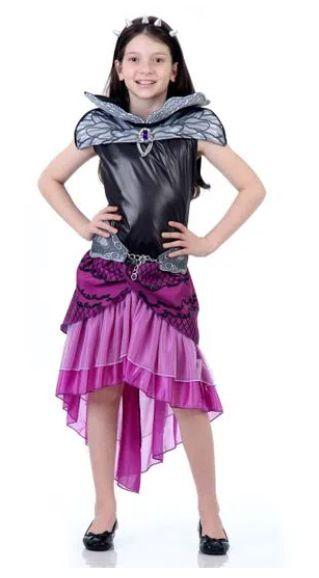 Fantasia Raver Queen Infantil - Ever After High