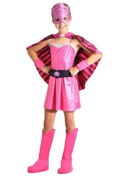 Fantasia Barbie Super Princesa Infantil Luxo