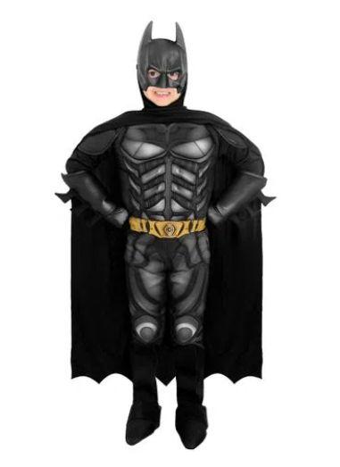 Fantasia Batman Luxo - O Cavaleiro das Trevas Ressurge