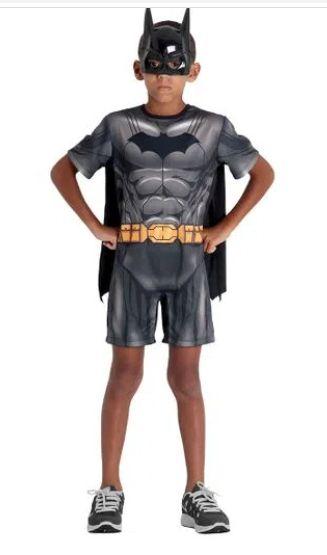 Fantasia Batman Infantil Curto - DC