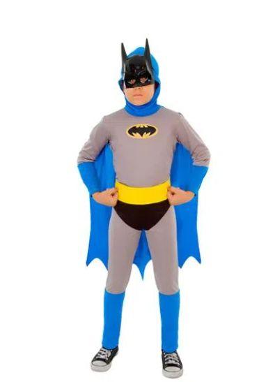 Fantasia Batman Infantil Standard - Os Bravos e Destemidos