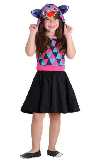 Fantasia Furby Triangulos Infantil