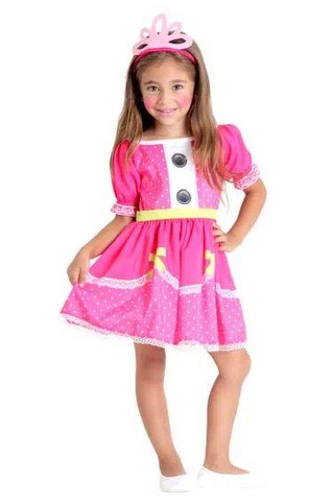 Fantasia Jewel Sparkles Infantil - Lalaloopsy