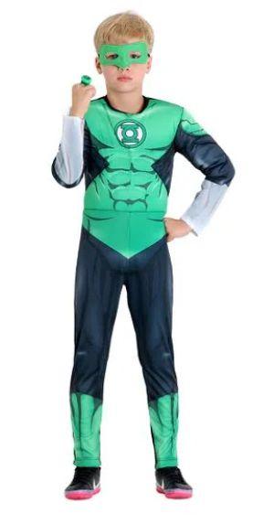 Fantasia Lanterna Verde Infantil Peitoral - DC