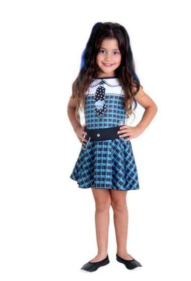 Fantasia Frankie Infantil Pop - Monster High