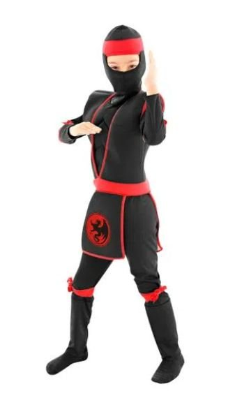 Fantasia Guerreiro Ninja Infantil Luxo