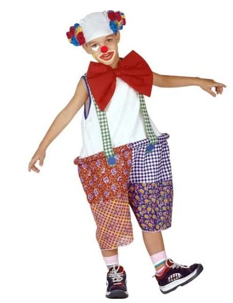Fantasia Palhaço Circo Infantil