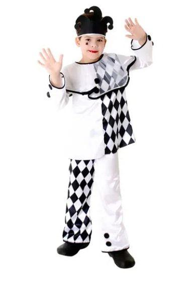 Fantasia Pierro Masculino Infantil