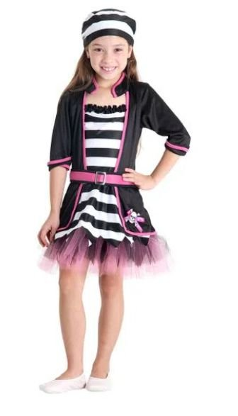 Fantasia Pirata Chic Infantil