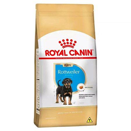 Ração Royal Canin Raças Específicas para Cães Filhotes de Rottweiler - 12Kg