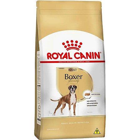 Ração Royal Canin  para Cães Adultos da Raça Boxer - 12Kg