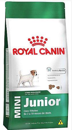Ração Royal Canin - Mini Junior - Para Cães Filhotes de Raças Pequenas 7,5Kg