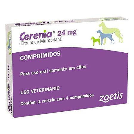 Antiemético Zoetis Cerenia para cães - 4 Blister de 24mg