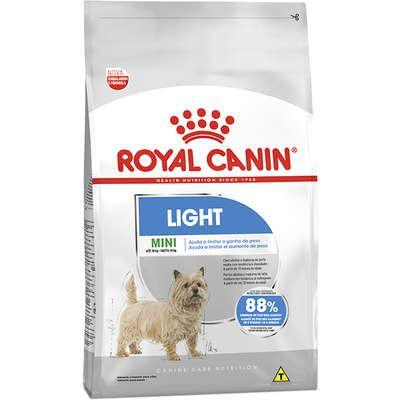 Ração Royal Canin - Mini Light - Para Cães Adultos de Raças Pequenas com Tendência A Obesidade 2,5Kg