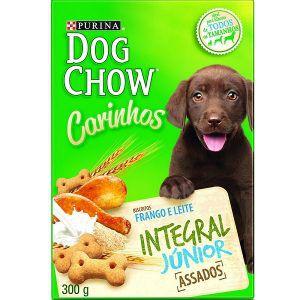 Biscoito Nestlé Purina - Dog Chow Carinhos - Integral Júnior 300g