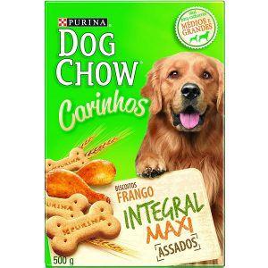 Biscoito Nestlé Purina - Dog Chow Carinhos - Integral Maxi 500g