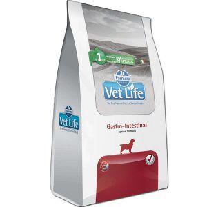 Ração Farmina Vet Life - Natural Gastro-intest - Para Cães Adultos com Distúrbios Intestinais 2Kg