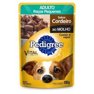 Ração Úmida - Para Cães Adultos Pedigree Sachê 100g