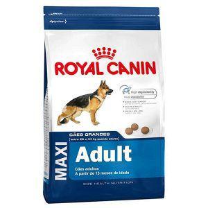 Ração Royal Canin - Maxi Adult - Para Cães Adultos Raças Grandes 15Kg