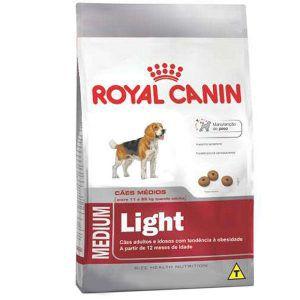 Ração Royal Canin - Medium Light - Para Cães Adultos Ou Idosos Obesos de Raças Médias 15Kg