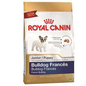 Ração Royal Canin - Raças Específicas Junior - Para Cães Filhotes da Raça Bulldog Francês 2,5Kg
