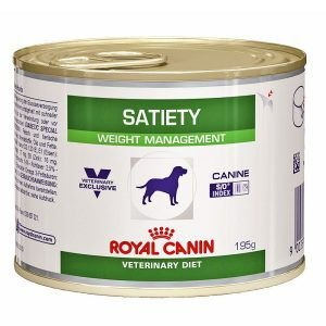 Ração Royal Canin Lata - Canine Veterinary Diet Satiety Support Wet - Para Cães Adultos Obesos 195g