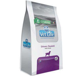 Ração Farmina Vet Life - Natural Urinary Ossalati - Para Cães Adultos com Cálculos Urinários 2Kg