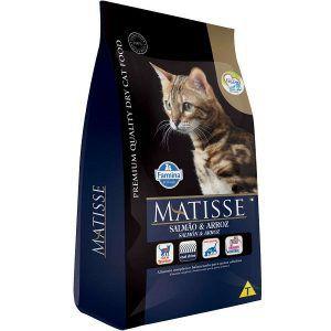 Ração Farmina Matisse - Salmão e Arroz - Para Gatos Adultos 800g