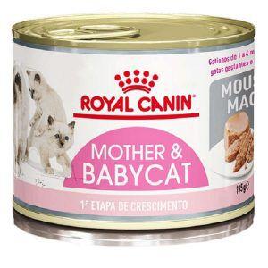 Ração Royal Canin Lata Baby Cat Instinctive Para Gatos Filhotes 195 Gr