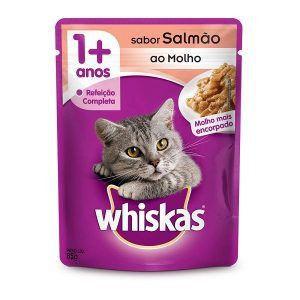 Ração Úmida Whiskas - Sachê Para Gatos Adultos 85g