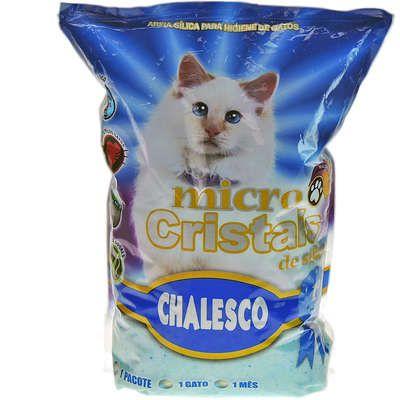 Areia Sanitária - Micro Cristal - Chalesco 1,8kg