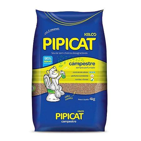 Areia Higiênica Campestre para Gatos - Pipicat