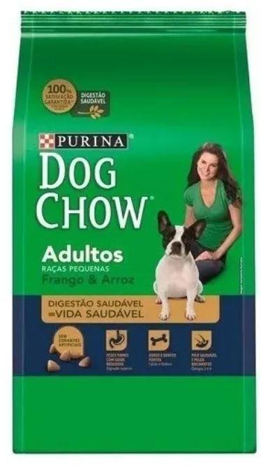 Ração Dog Chow - Adultos Raças Pequenas
