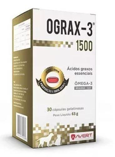 Ograx Avert - Omega-3 - 30 Com.
