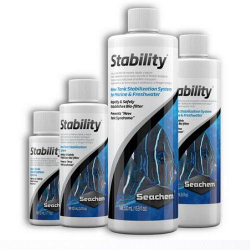 Seachem Stability 500 ml Acelerador Biológico Água Doce / Mar