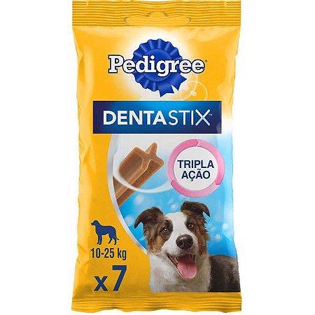 Petisco Pedigree - Dentastix Oral Para Cães Adultos - Raças Médias 7unid