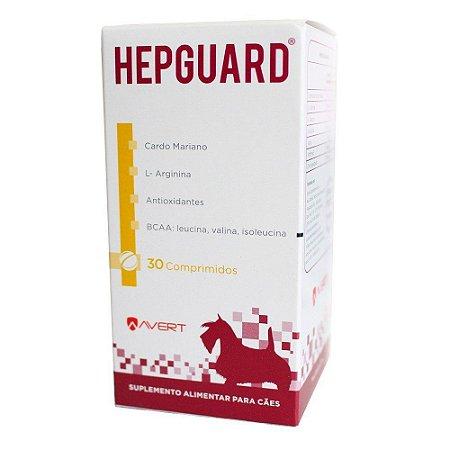 Suplemento Hepguard - Para Cães - 30 Com. Blisters